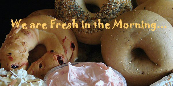 Breakfast & Lunch Bagels